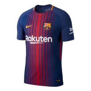 Nike Men's Barcelona 17/18 Authentic Home Jersey